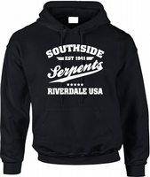 RIVERDALE SOUTHSIDE SERPENTS HOODIE - INSPIRED BY RIVERDALE